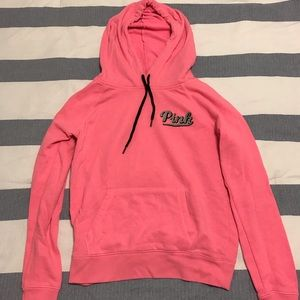 "Victoria Secret ""pink"" Hot pink hoodie"